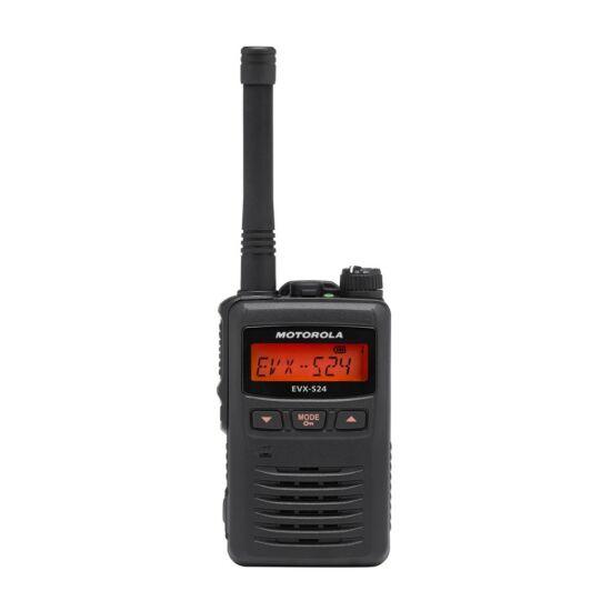 Motorola EVX-S24 (CE) 403-480MHZ DIGITÁLNA RUČNÁ RÁDIOSTANICA