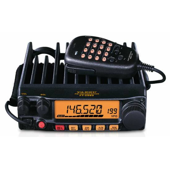 YAESU FT-2980E VHF FM MOBILNÁ RÁDIOSTANICA VYSIELAČKA