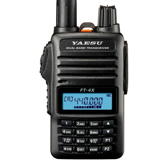 YAESU FT-4XE VHF/UHF RUČNÁ RÁDIOSTANICA