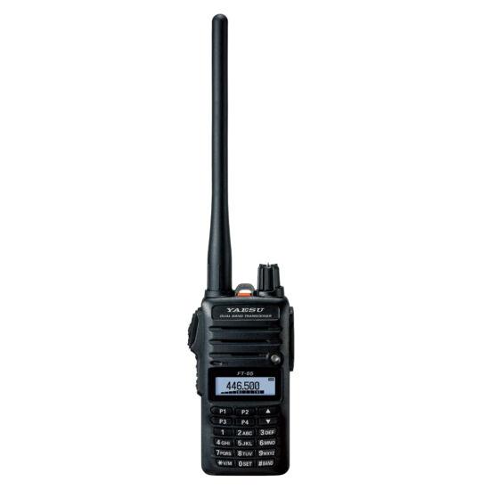 YAESU FT-65E-B2 VHF/UHF DVOJPÁSMOVÁ VYSIELAČKA RUČNÁ RÁDIOSTANICA