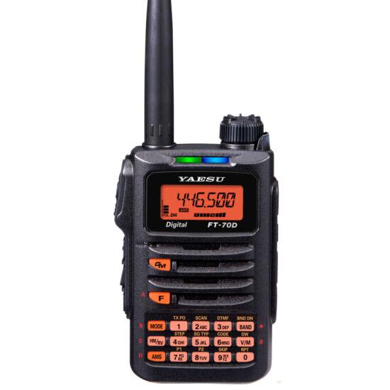 YAESU FT-70DE VHF/UHF DIGITÁLNA C4FM RUČNÁ RÁDIOSTANICA VYSIELAČKA