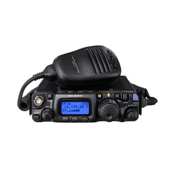 Yaesu FT-818ND B2 HF/VHF/UHF ALL MODE MOBILNÁ RÁDIOSTANICA, VYSIELAČKA