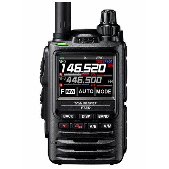 YAESU FT3DE VHF/UHF DIGITÁLNA C4FM RUČNÁ RÁDIOSTANICA